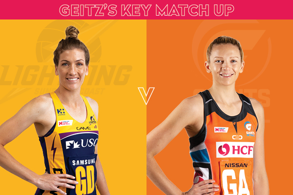Lightning and Giants Key Match Up - Karla Pretorius and Jo Harten