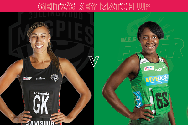 Magpies and Fever Key Match Up - Geva Mentor and Jhaniele Fowler