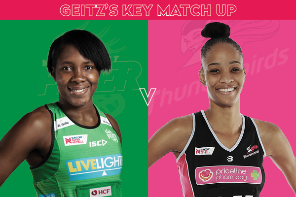 Fever and Thunderbirds Key Match Up - Jhaniele Fowler and Shamera Sterling