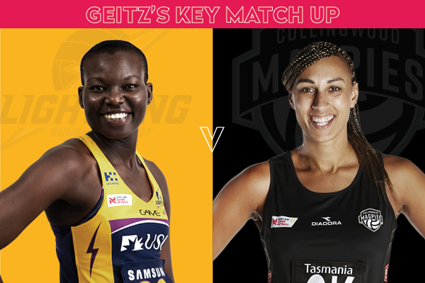 Lightning and Magpie Key Match Up - Peace Proscovia and Geva Mentor