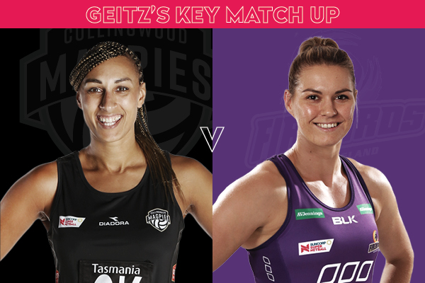 Laura Getitz Match-up, Geva Mentor v Lenize Potgieter