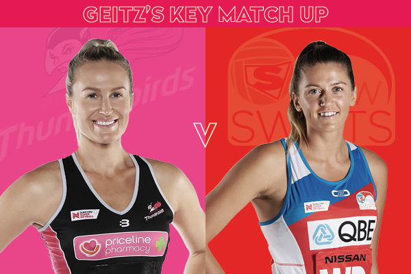 Laura Getitz Match-up, Chelsea Pitman v Kate Eddy