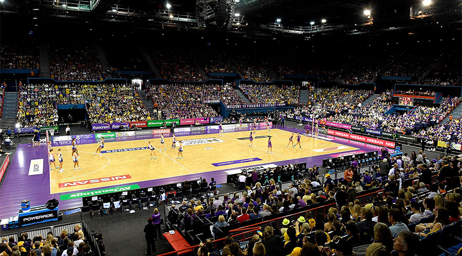 Semi Final between the Firebirds and Lightning at Queensland's home court