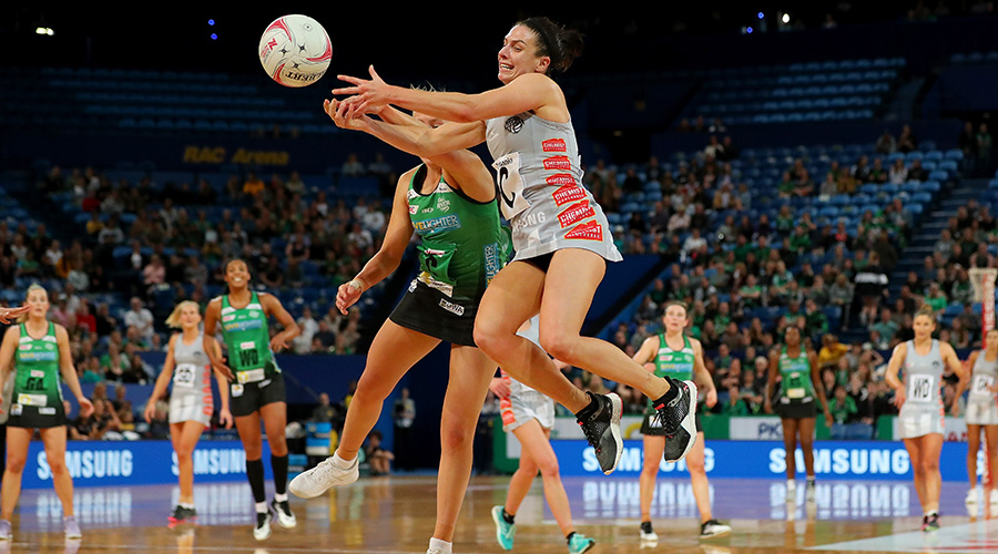 Ash Brazill takes on the West Coast Fever in Round 12