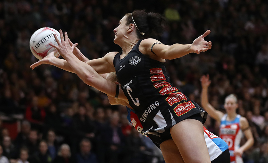 Magpies Netball midcourter Ash Brazill