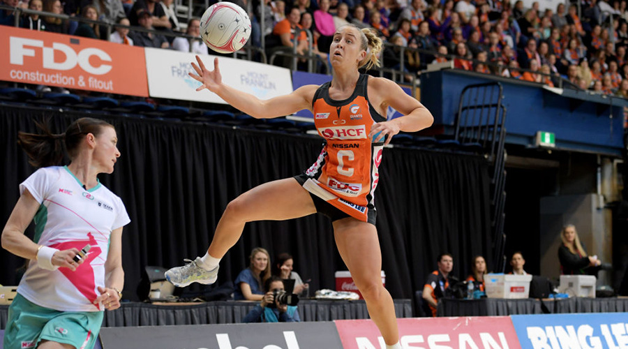 Jamie-Lee Price in Round 11 against the Queensland Firebirds