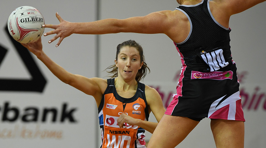 Giants Netball wing defence Amy Parmenter
