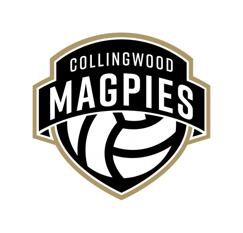 Collingwood Magpies Netball logo.